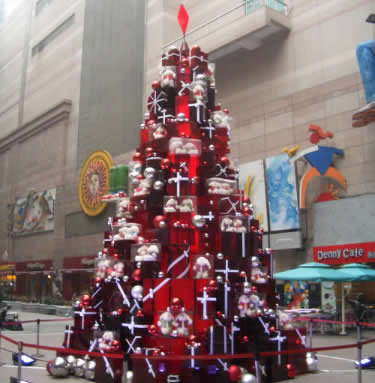 Christmas Tree in Shanghai